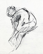 Life Drawings - RCNpaintings.com by Chris N Rohrbach