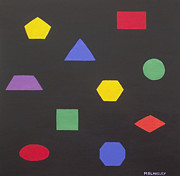 Martin Blakeley - 2D Shapes in Color