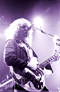 Concert Photos Art - 2nd Alex Lifeson of Rush-Permanent Waves tour Cow Palace 3-14-80 by Daniel Larsen