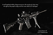 Captive Images Photography Posters - 2nd Amendment Poster by John Kiss
