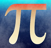 Pi Art - 2Pi by Ron Hedges