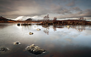 Winter Prints Photos -  Lochan na h-Achlaise by Grant Glendinning