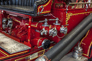 Fire Trucks Framed Prints - 1915 LaFrance Fire Engine Framed Print by Rich Franco