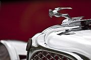 Collector Hood Ornament Metal Prints - 1931 Chrysler CG Imperial Roadster Hood Ornament Metal Print by Jill Reger