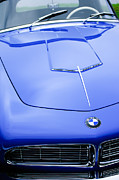 Series Prints - 1958 BMW 507 Series II Roadster Hood Emblem Print by Jill Reger