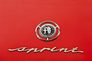 1959 Alfa Romeo Giulietta Sprint Emblem Print by Jill Reger