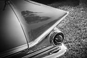 Custom Buick Prints - 1959 Buick Electra 225 BW Print by Rich Franco