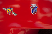 1962 Photos - 1962 Fiat Abarth 2300 S Coupe Emblems by Jill Reger