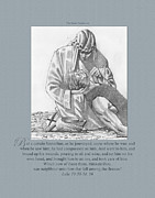 King James Framed Prints - 221 The Good Samaritan Framed Print by James Robinson