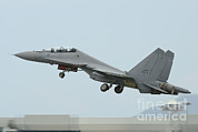 Featured Art - A Sukhoi Su-30mkm Of The Royal by Remo Guidi