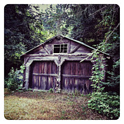 Barn Digital Art Metal Prints - Abandoned Barn Metal Print by Natasha Marco