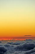 Sami Sarkis - Above cloudscape at sunset