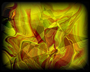 Psychedelic Prints - Abstract 27 Print by J D Owen