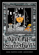 Hoodie Digital Art Framed Prints - Aint Life Somethin? Framed Print by S Desiata