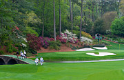 Amen Photos - Amen Corner Augusta Golf by Mark Sanderson