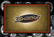 Skate Photos - Anaheim Ducks by Joe Hamilton