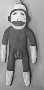 Leah Saulnier The Painting Maniac - Anatomically Correct Male Sock Monkey