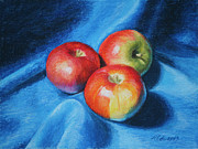 Marna Edwards Flavell - 3 Apples