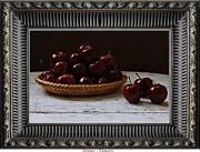 Fruits Photographs Framed Prints - Apples Framed Print by Pemaro