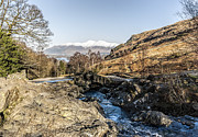 Packhorse Prints - Ashness Bridge Lake District Print by Trevor Kersley