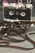Data Photo Originals - Audio tape cassette with subtracted out tape by Deyan Georgiev