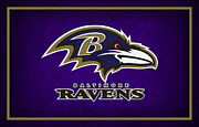 Ravens Framed Prints - Baltimore Ravens Framed Print by Joe Hamilton