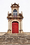 Castelo Metal Prints - Baroque Portal Metal Print by Jose Elias - Sofia Pereira