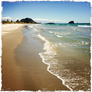 Beach Photograph Metal Prints - Beach Metal Print by Les Cunliffe
