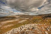 Fanore Framed Prints - Beautiful Burren Landscape Framed Print by John Quinn
