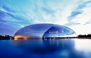 Center City Prints - Beijing National Opera Print by Fototrav Print