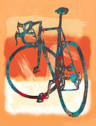 Kim Wang - Bicycle pop stylized art...