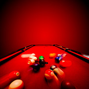 Pool Break Photos - Billards pool game by Michal Bednarek
