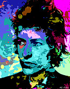 Bob Dylan Art - Bob Dylan by Allen Glass