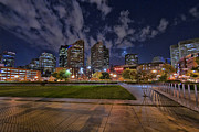 Night Scenes Photos - Boston Nights 3 by Joann Vitali