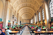 Pattern Books Photos - Boston Public Library by Songquan Deng