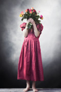 Colorful Roses Photos - Bouquet Of Flowers by Joana Kruse