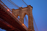 Brooklyn Bridge Prints - Brooklyn Bridge Print by Brian Jannsen