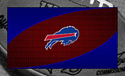 Offense Framed Prints - Buffalo Bills Framed Print by Joe Hamilton