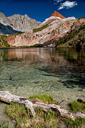 Scenic Prints - Bull Lake and Chocolate Peak Print by Cat Connor