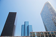 Enterprise Metal Prints - Business skyscrapers. Metal Print by Michal Bednarek