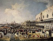 Ambassador Prints - Canaletto, Giovanni Antonio Canal Print by Everett