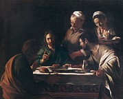 Christ Pictures Prints - Caravaggio, Michelangelo Merisi Da Print by Everett
