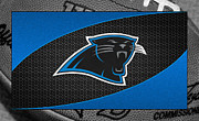 Panthers Framed Prints - Carolina Panthers Framed Print by Joe Hamilton