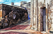 West Indies Digital Art Prints - Castillo de San Cristobal Print by Thomas R Fletcher