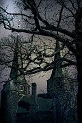 Gloomy Prints - Castle Print by Joana Kruse