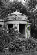 Architektur Metal Prints - Cemetery Stahnsdorf Berlin Metal Print by Art Photography