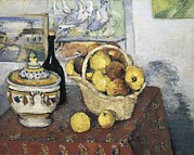 Cezanne; Nature Morte Prints - Cezanne, Paul 1839-1906. Still Life Print by Everett