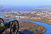 Chattanooga In Autumn Print by Melinda Fawver