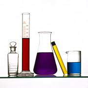 Laboratory Art - Chemistry by Bernard Jaubert