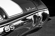 Chevrolet Chevelle Photos - Chevrolet Chevelle SS Taillight Emblem by Jill Reger